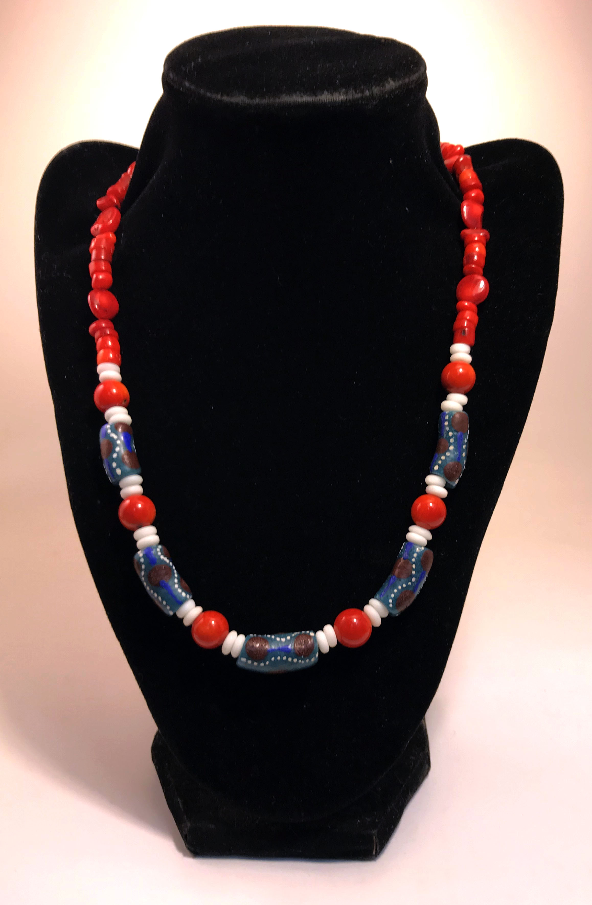 beads czech glass at bead world african color coral product necklace trade