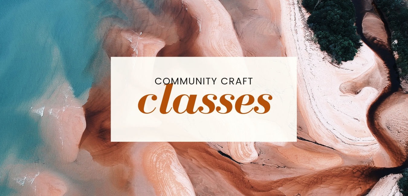 Community Craft Class Graphic